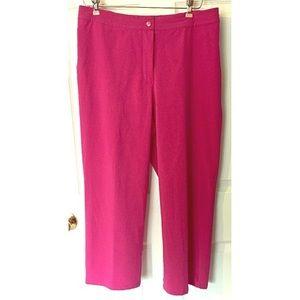 Chico's Zenergy Stretch Capri Pants 2 12 Cropped M